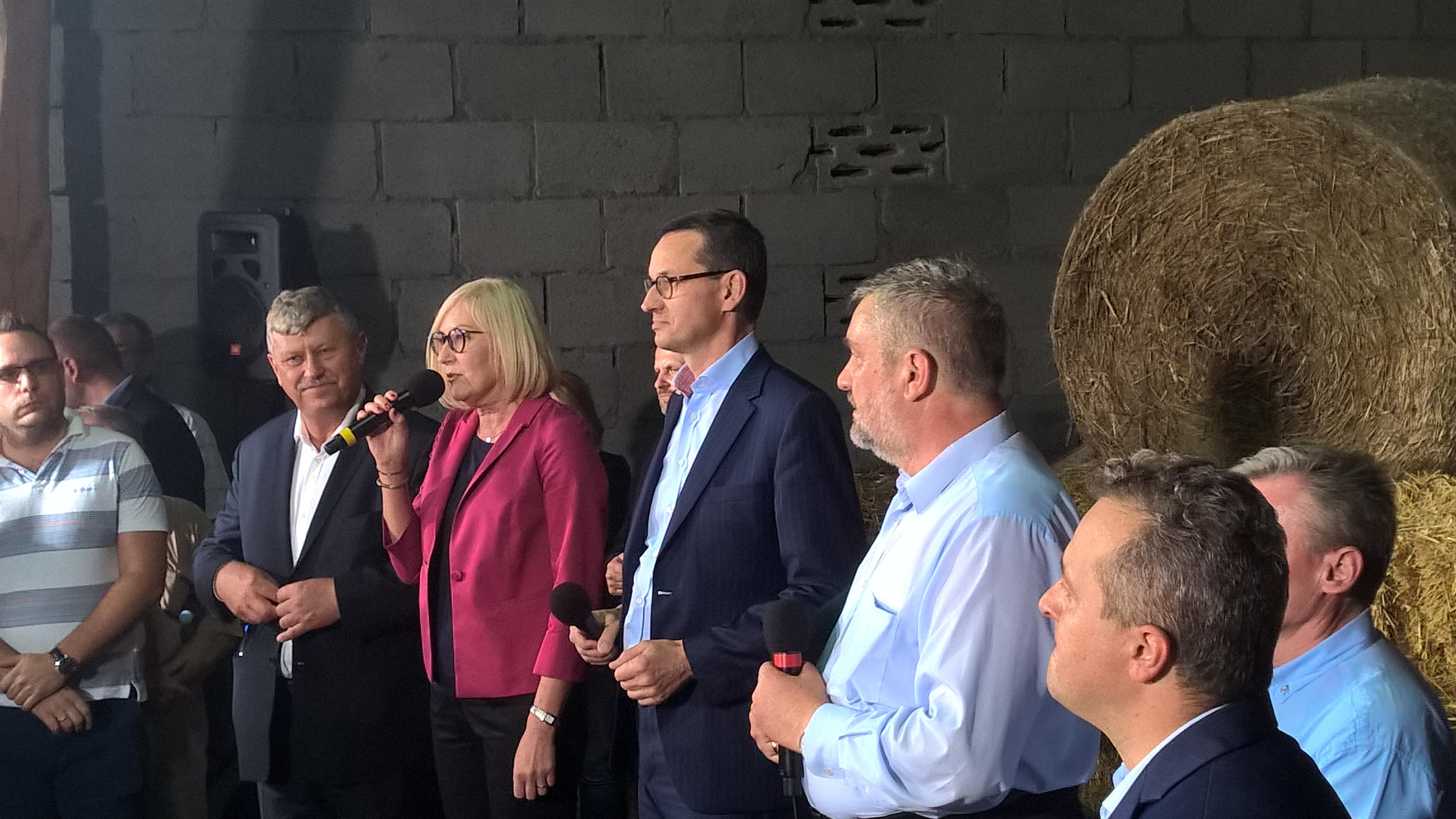 Przedstawiciele PZPRZ na spotkaniu z Premierem Morawieckim i Ministrem Ardanowskim – ogłoszenie Planu dla wsi