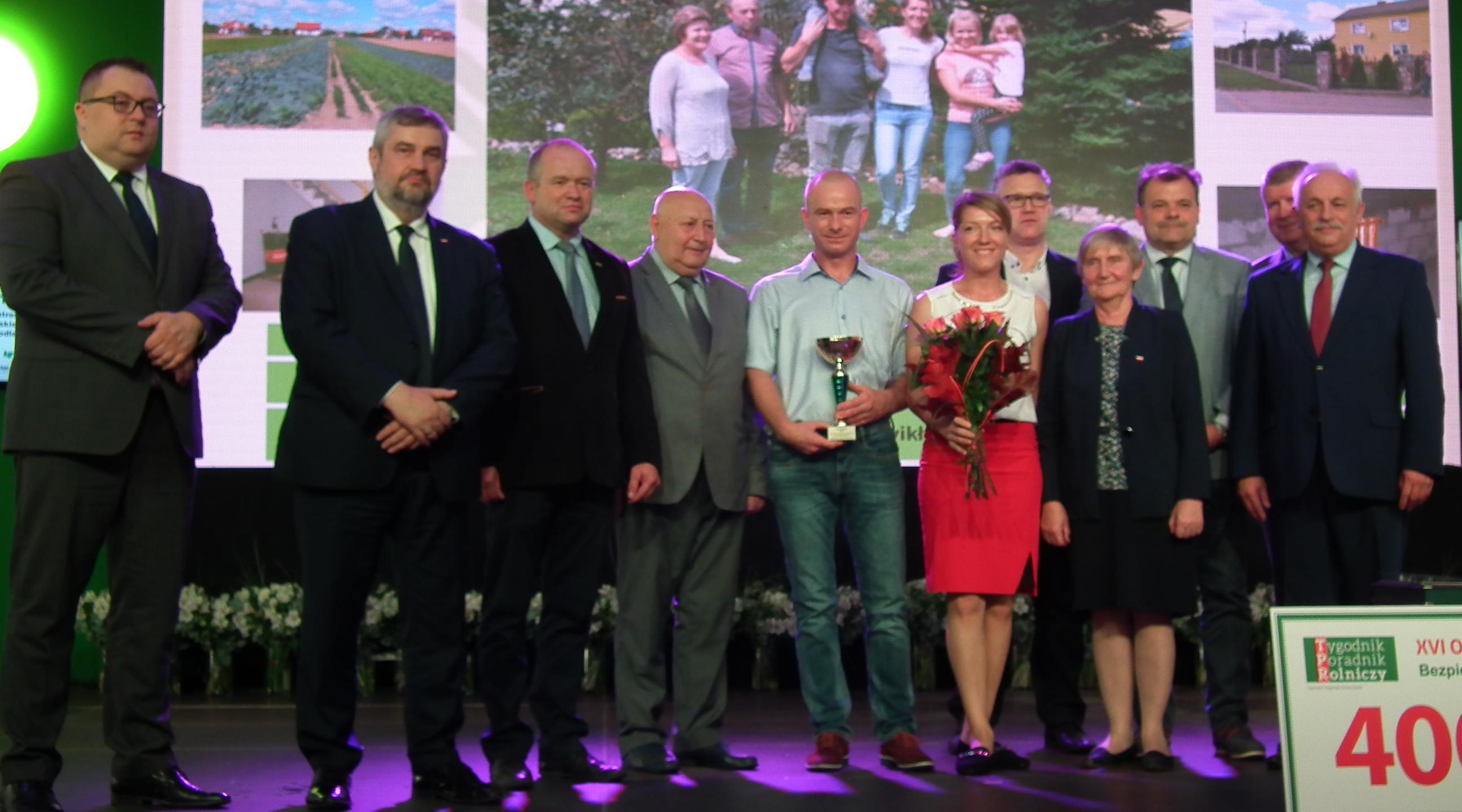 Nagroda od PZPRZ w konkursie Bezpieczne Gospodarstwo Rolne 2018