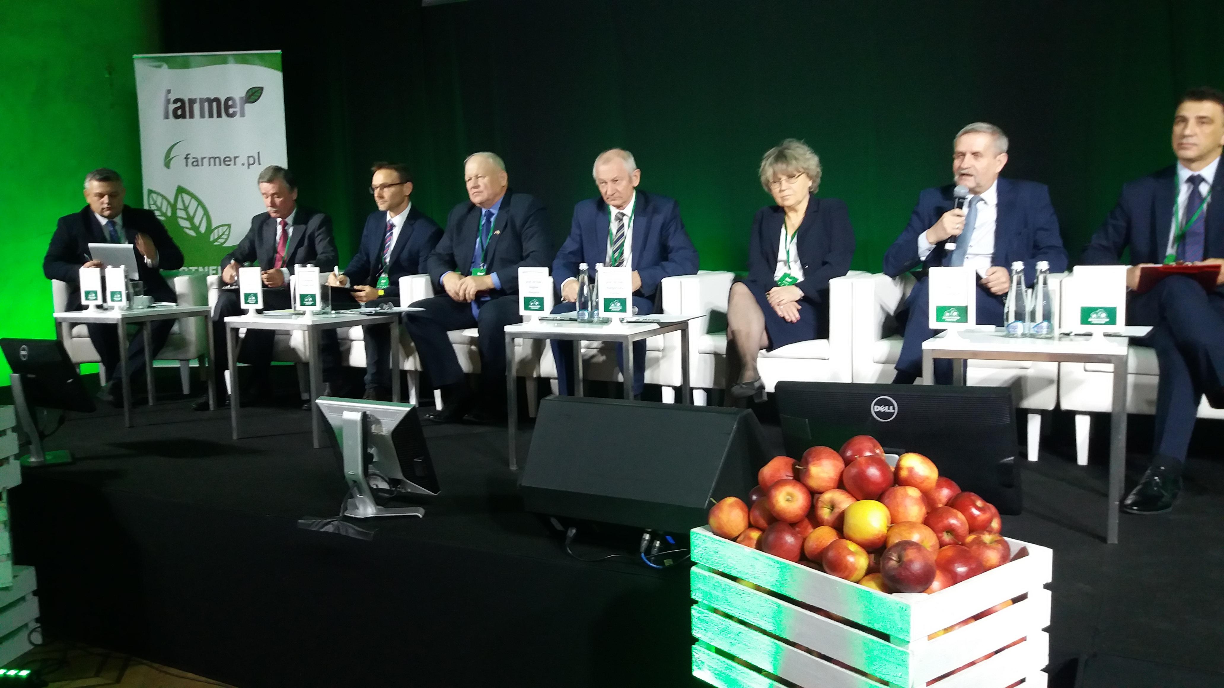 PZPRZ wziął udział w debacie na temat modelu polskiego rolnictwa w czasie Konferencji: Narodowe wyzwania w rolnictwie!