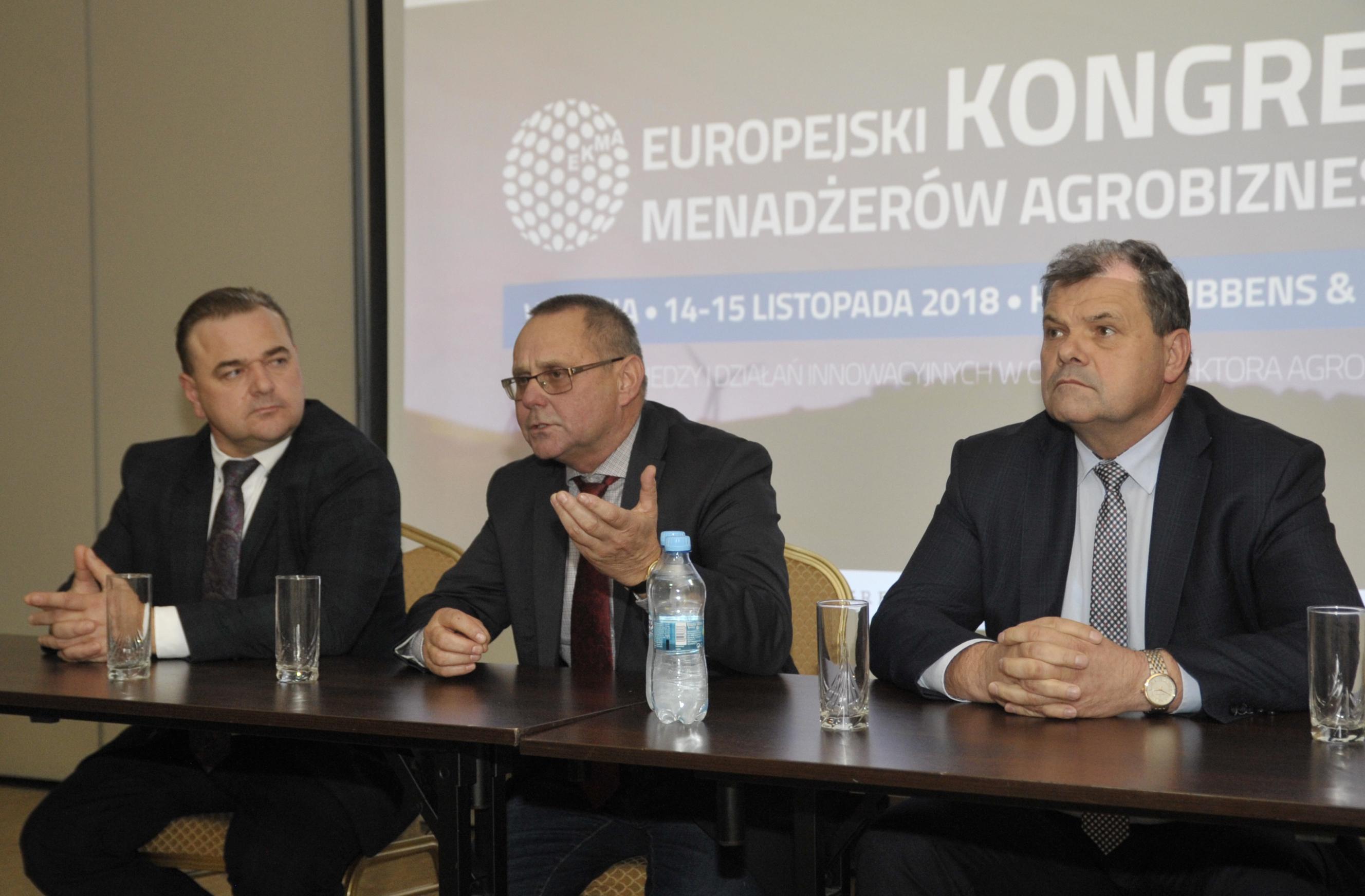 Piotr Doligalski – członek Zarządu PZPRZ – wziął udział w Europejskim Kongresie Menadżerów Agrobiznesu