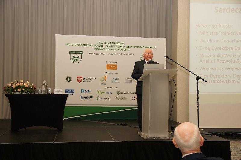 Wystąpienie PZPRZ podczas 59. Sesji Naukowej Instytutu Ochrony Roślin