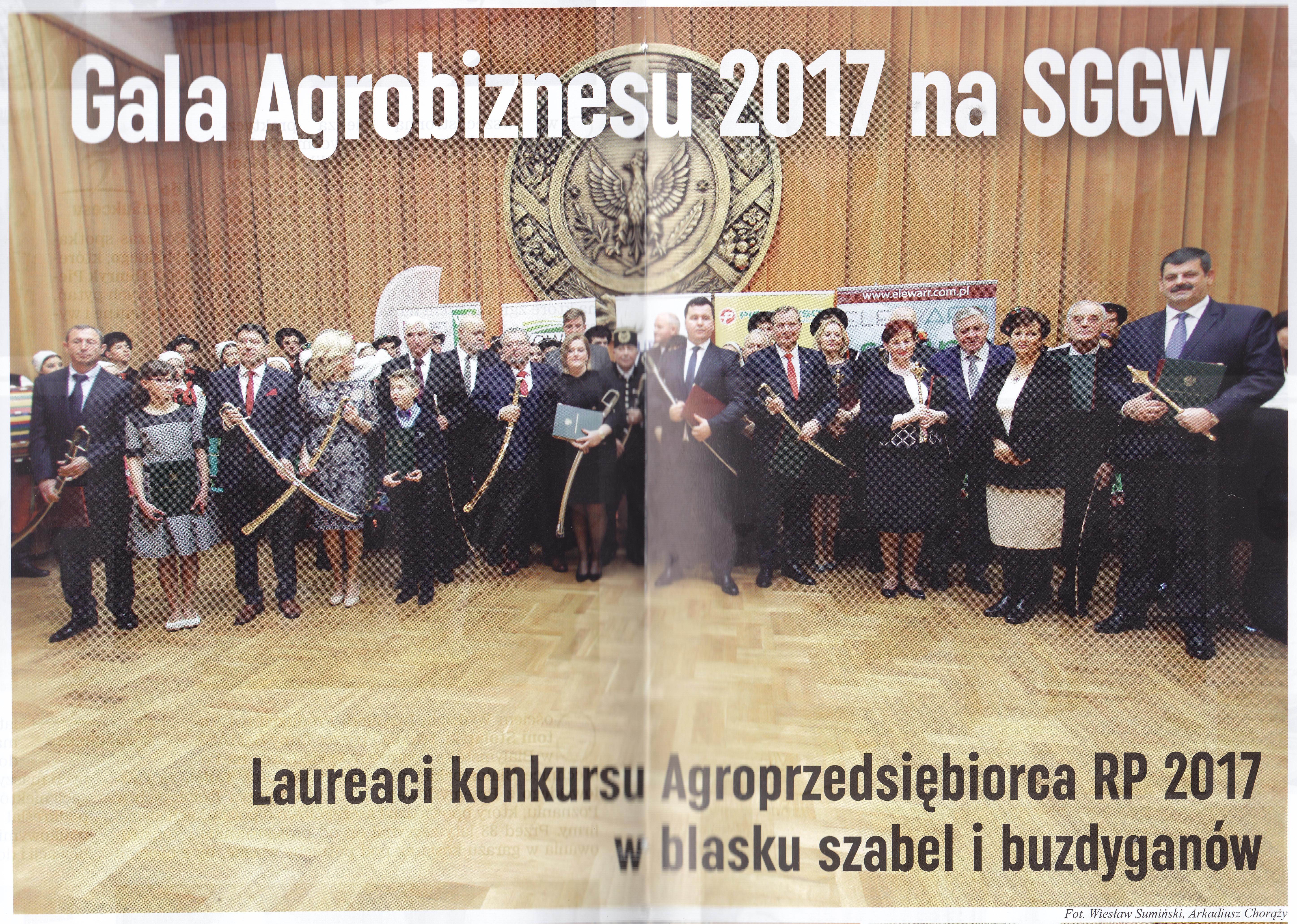 Gala AGROBIZNESU na SGGW