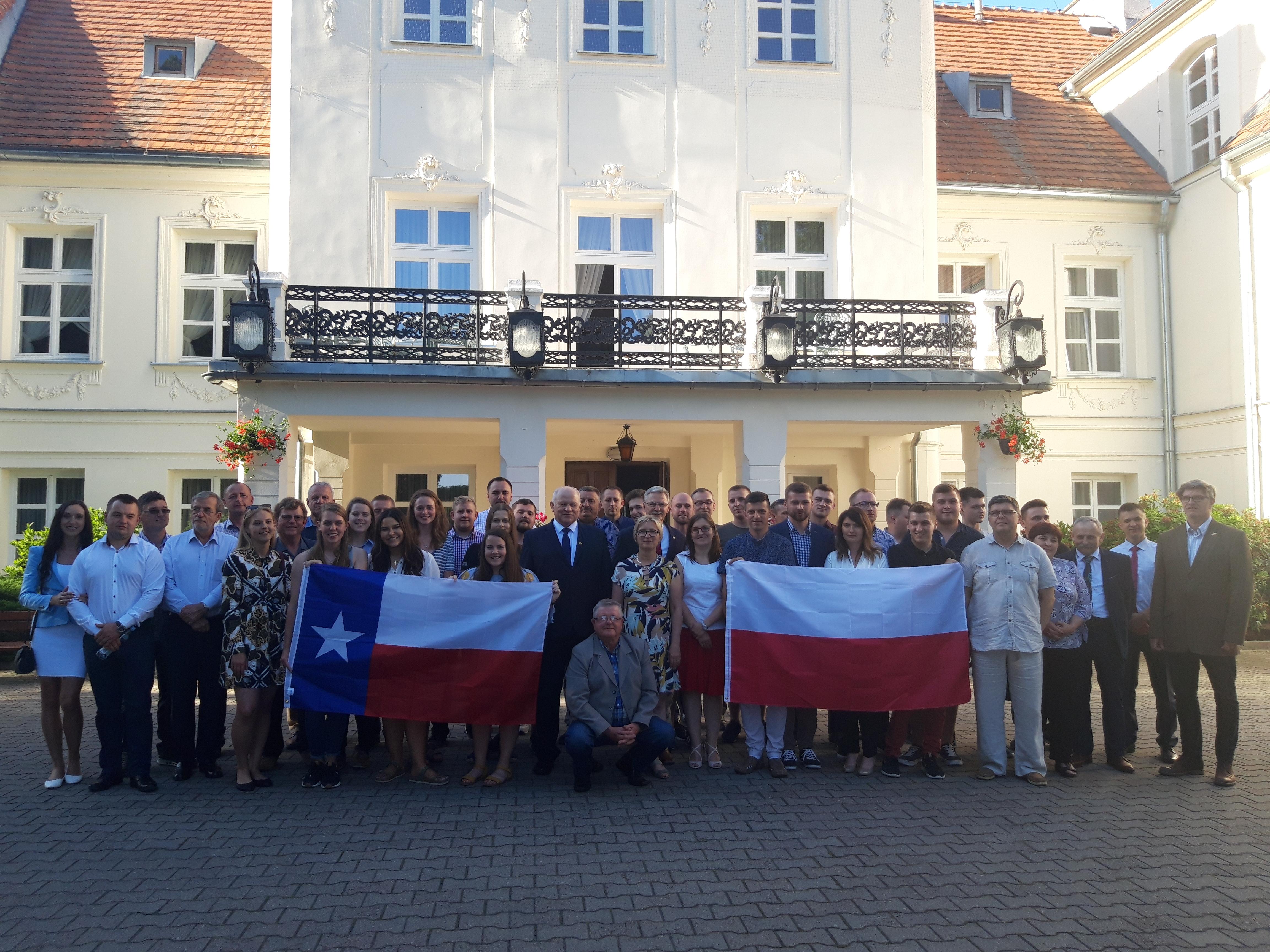 Spotkanie integracyjne uczestników wymiany Polska-Teksas
