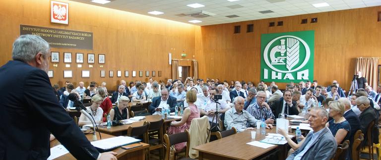 """Konferencja """"Ocena sytuacji rynku zbożowego w Polsce z uwzględnieniem uwarunkowań zewnętrznych"""""""