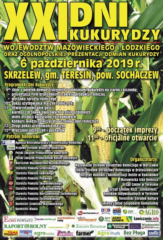 XXI Dni Kukurydzy w Skrzelewie