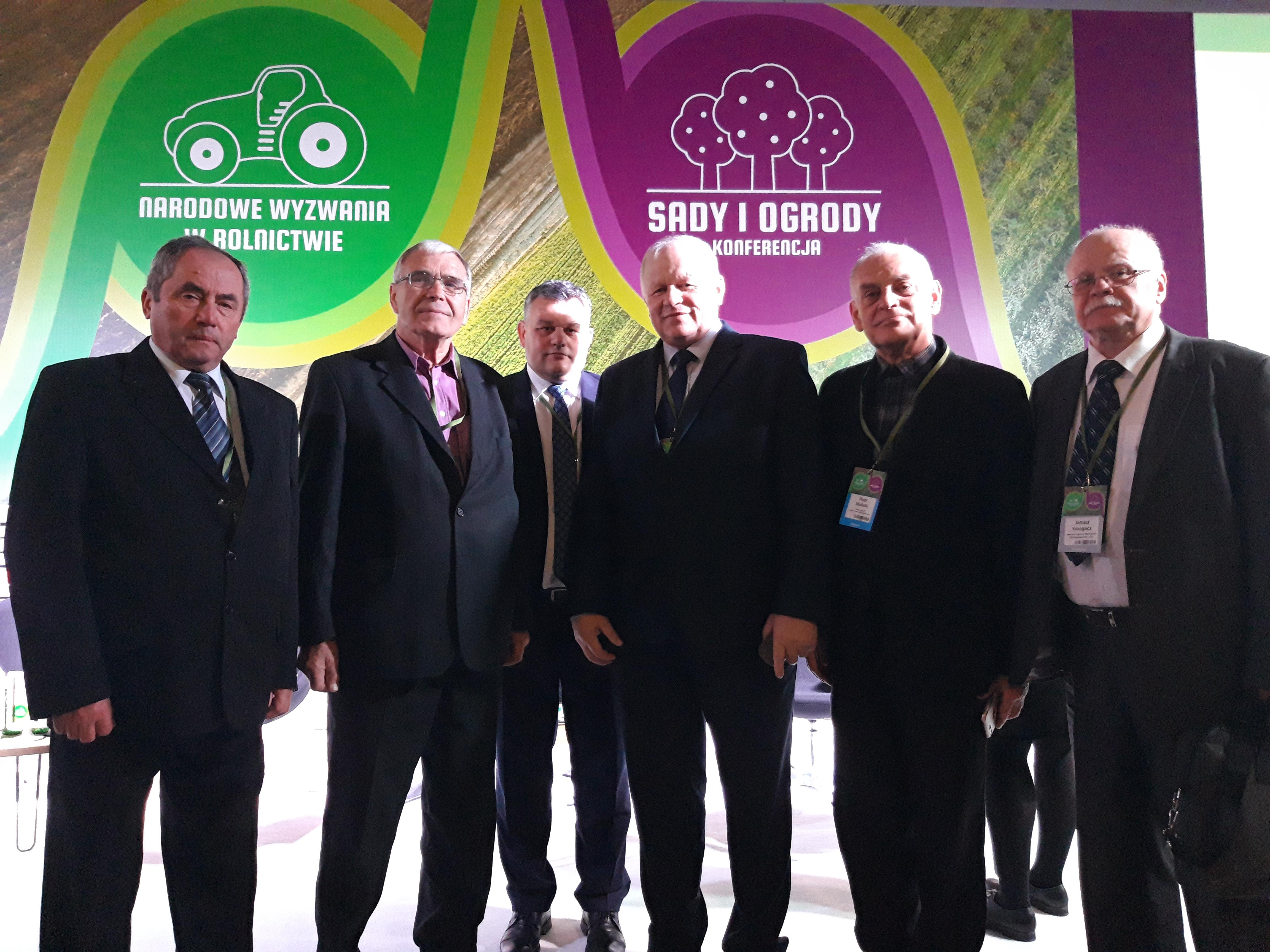 Zarząd PZPRZ na konferencji Narodowe Wyzwania w Rolnictwie