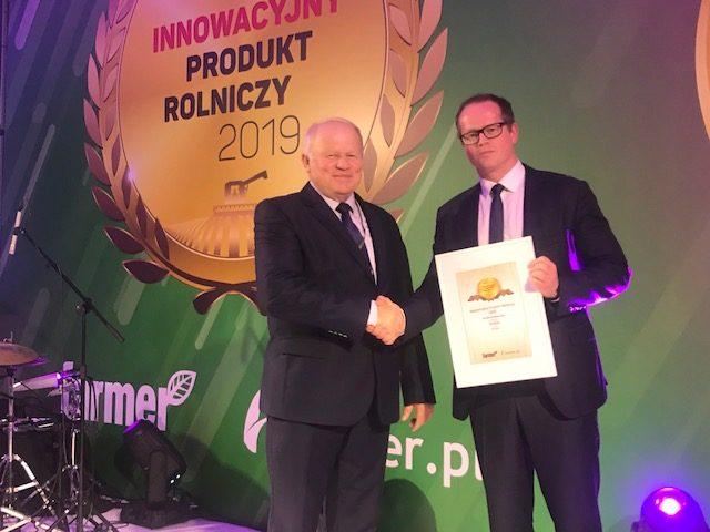 """Euforia z HR Strzelce zwyciężyła w konkursie """"Innowacyjny produkt rolniczy 2019"""""""