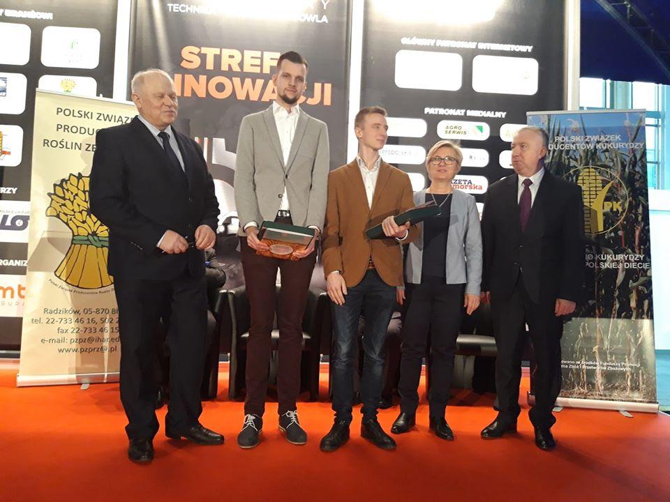 Wyróżnienie dla młodych rolników – Tomasza Kuchty i Marcina Gryna!
