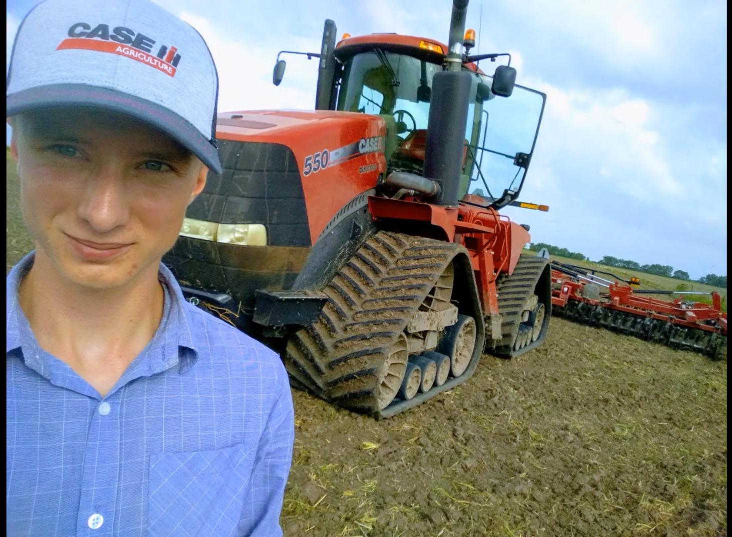 Marcin Gryn – fajnie, że są tacy studenci i tacy rolnicy